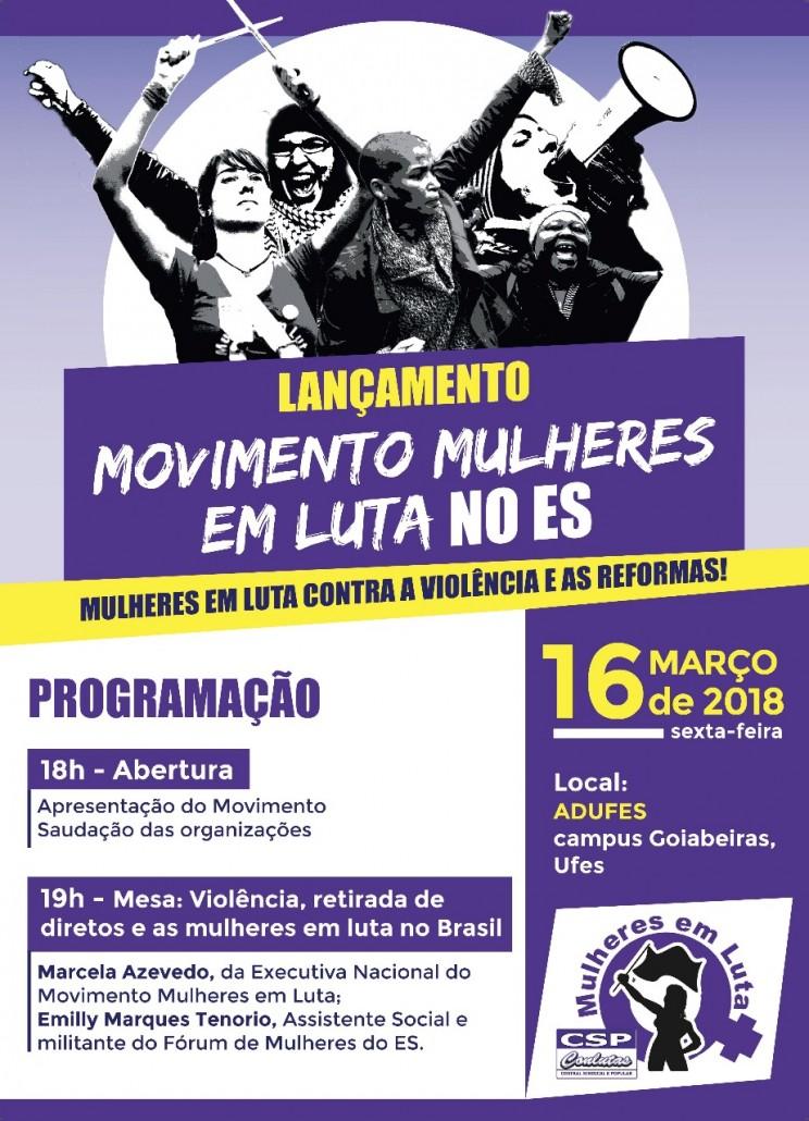 Cartaz Lançamento MML